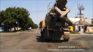 Ставрополь, поездка в нижнюю часть города из юго-западного района