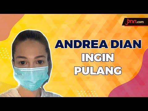 Seminggu Karantina, Andrea Dian Ingin Pulang untuk Suaminya