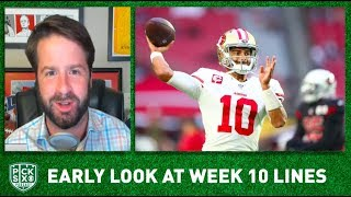 NFL Week 10 Picks, Early Look at Lines, Betting Advice I Pick Six Podcast