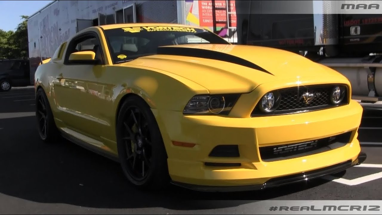 Vortech Supercharged Ford Mustang Gt Project Yellow Jacket