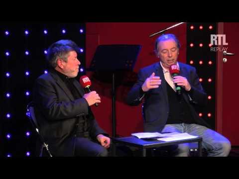 Philippe Chevallier et Régis Laspalès dans le Grand Studio Humour présenté par Laurent Boyer. - RTL