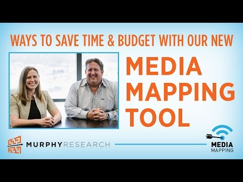Ways to Save Time & Money with our New Media Mapping Tool | Murphy Research
