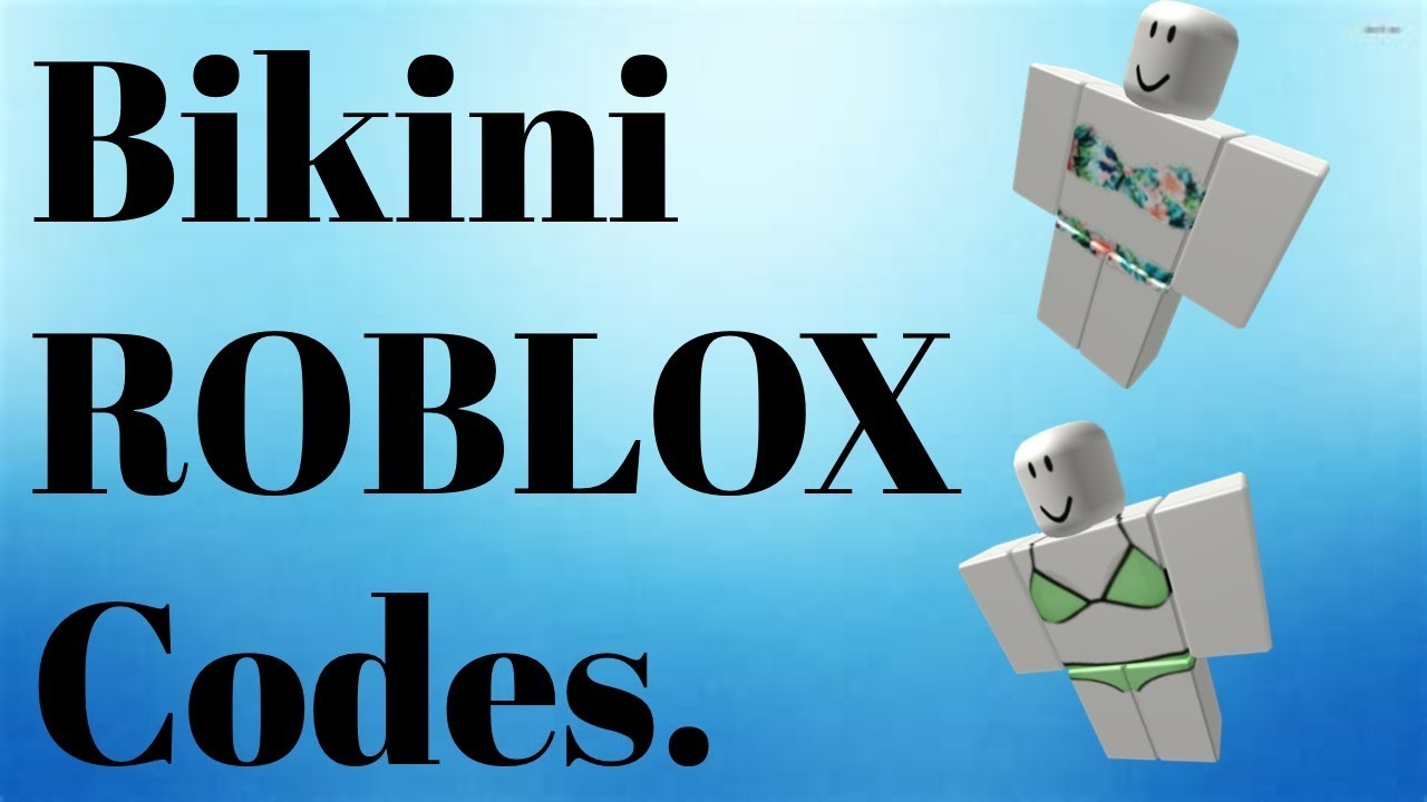 Bikini Roblox Codes Gamingwithsen Youtube