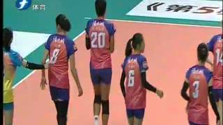 2015-2016 Chinese women's volleyball league season, Article 13 eighty one vs Fujian