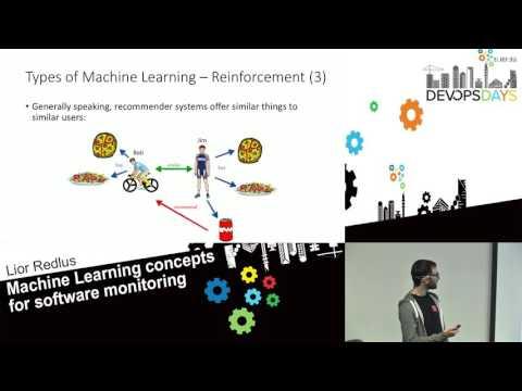 Machine Learning Concepts for Software Monitoring - Lior Redlus - DevOpsDays Tel Aviv 2016