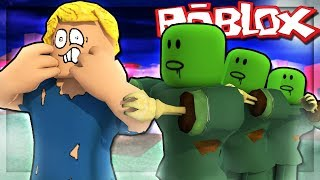 ROBLOX | RACE To The POLE In ROBLOX MEAN ZOMBIE-Zombie Escape Obby | SlenderMan