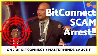 "Bitconnect ""Mastermind"" Finally Caught!"