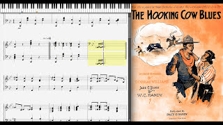 The Hooking Cow Blues by W. C. Handy (1917, Blues piano)