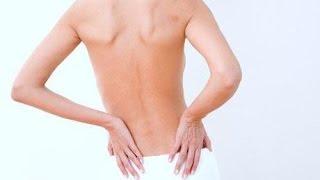Массаж при грудном остеохондрозе видео