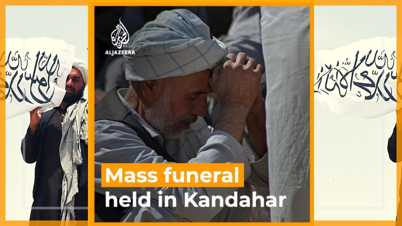 Download Afghanistan: Mass funeral held for victims of Kandahar mosque attack | Al Jazeera Newsfeed