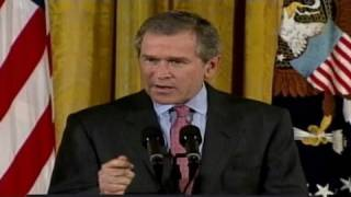 2001: Bush touts