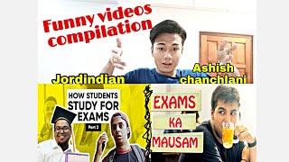 Jordindian Vs Ashish chanchlani Funny videos compilation ( Reaction video)