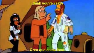cancion dr. zaius , los simpsons traducida al español