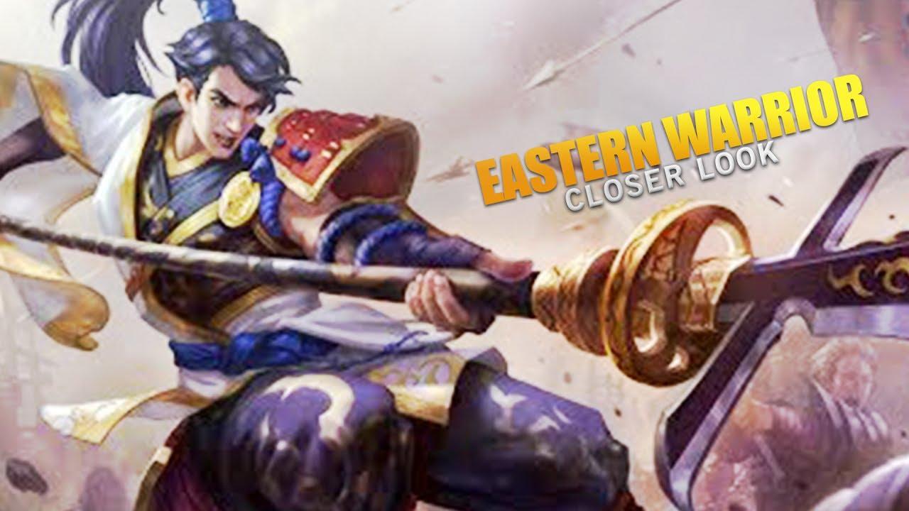 Yun Zhao Eastern Warrior Skin Closer Look Mobile Legends