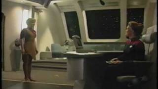 Launch of Star Trek Voyager - 01/12/1995 - 3/4