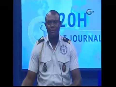 #Gabon - Un lieutenant interrompt abruptement une importante communication en plein journal télévisé