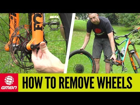 How To Remove And Replace Your Mountain Bike Wheels | MTB Maintenance
