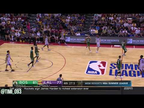 Abdel Nader Highlights vs Los Angeles Lakers (14 pts, 7 reb)