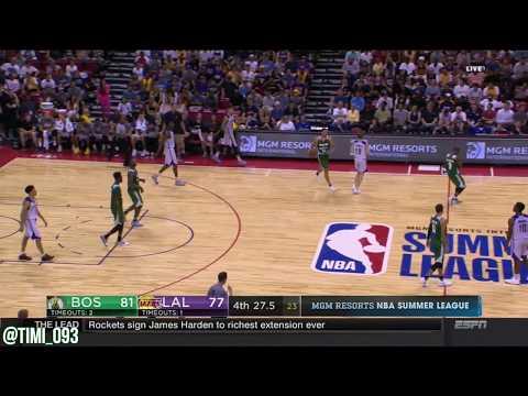 Abdel Nader Highlights vs Los Angeles Lakers (14 pts, 7 reb)