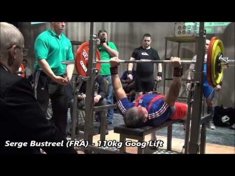 WDFPF European Championships 2013 Ireland 100kg & -110kg