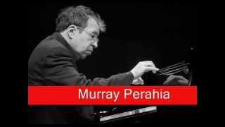 Murray Perahia: J.S. Bach - Partita No.3 in A minor BWV827 IV. Sarabande