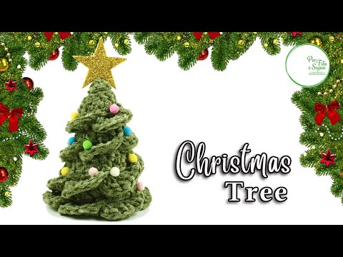 How To Crochet A Very Easy Christmas Tree