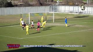Eccellenza Girone B Valdarno-Porta Romana 0-2 (TV1)