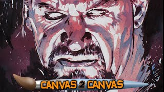 The Undertaker helps Rob Schamberger come full circle in 2017: Canvas 2 Canvas