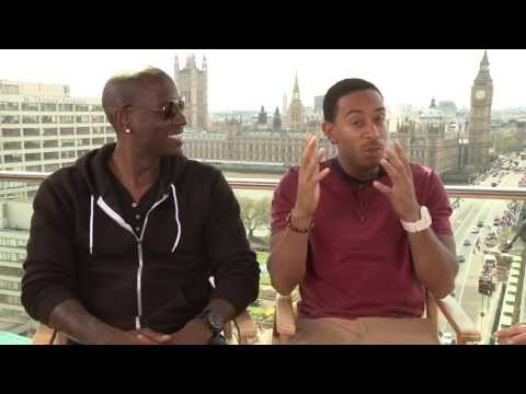 TYRESE & LUDACRIS INTERVIEW- FAST & FURIOUS 6 FREESTYLE