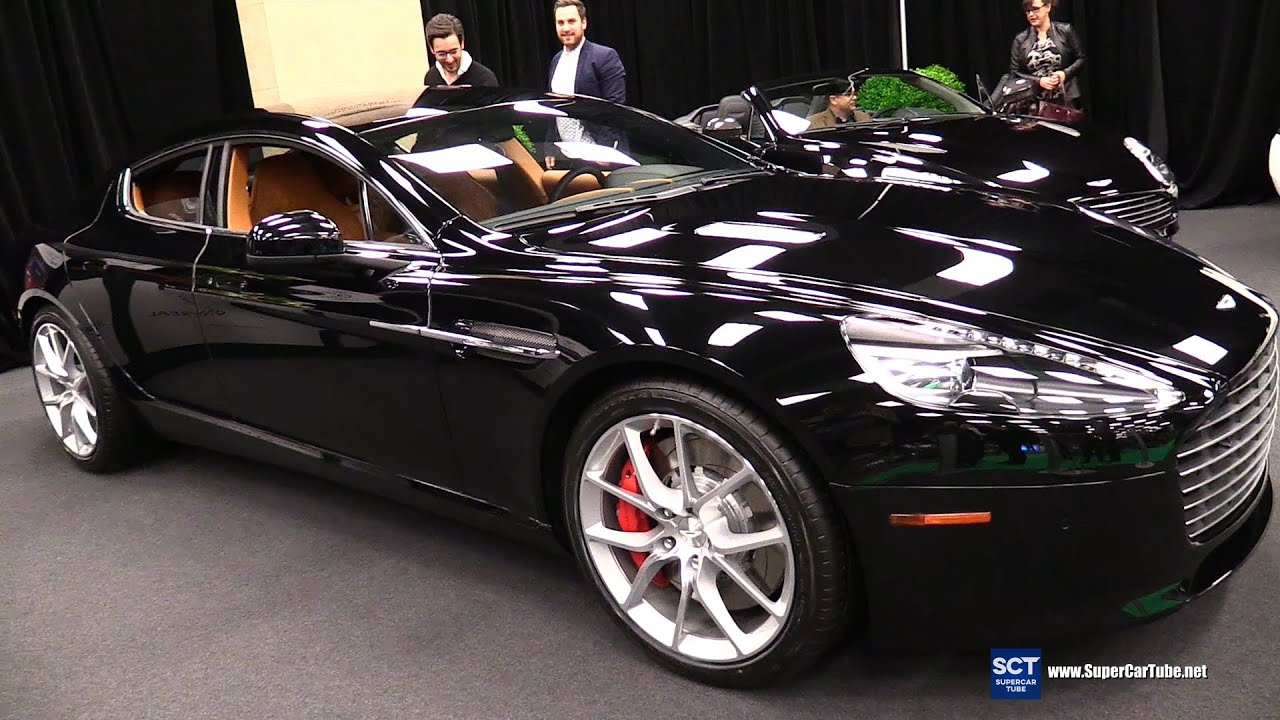 2016 aston martin rapide s - exterior and interior walkaround - 2016