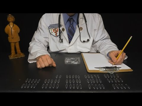 Paperclip Counting with Professor Clemmons [ ASMR ]