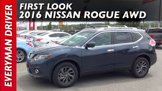 Here's the 2016 Nissan Rogue AWD on Everyman Driver