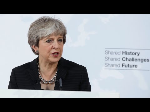Theresa May's Brexit speech in Florence