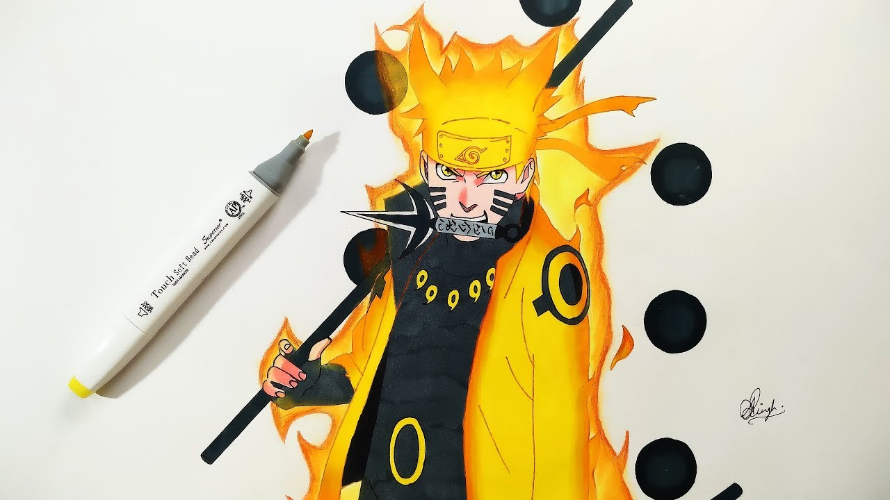 Naruto Sage Of The Six Paths How To Draw Nar...
