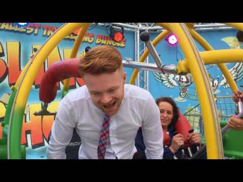 New thrill-seeking Slingshot ride opens in Great Yarmouth
