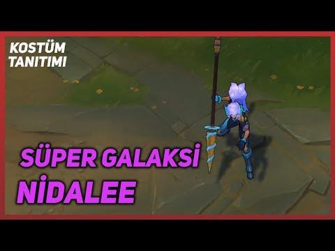 Süper Galaksi Nidalee (Kostüm Tanıtımı) League of Legends