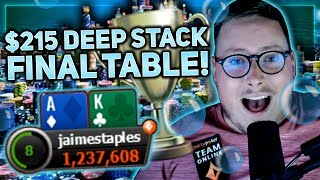CAN WE GET HEADS UP FOR THE TROPHY!? | PokerStaples Stream Highlights