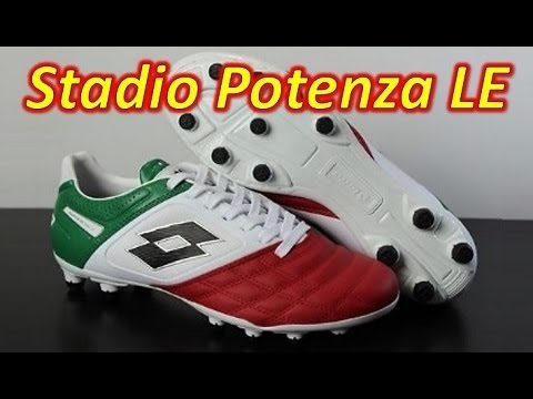 free shipping 45827 d8c29 Lotto Stadio Potenza II 100 Tricolore (1 of 500) - Unboxing + On Feet -  YouTube