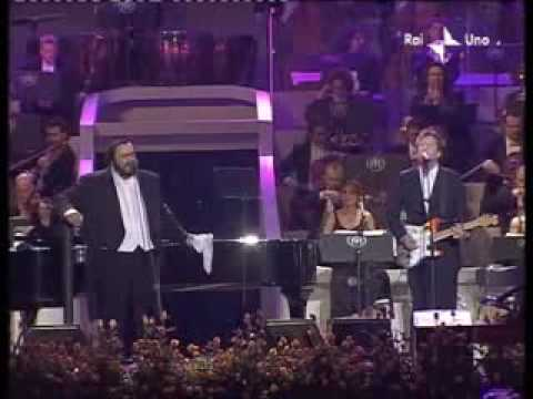 Luciano Pavarotti Y Eric Clapton Holy Mother Live