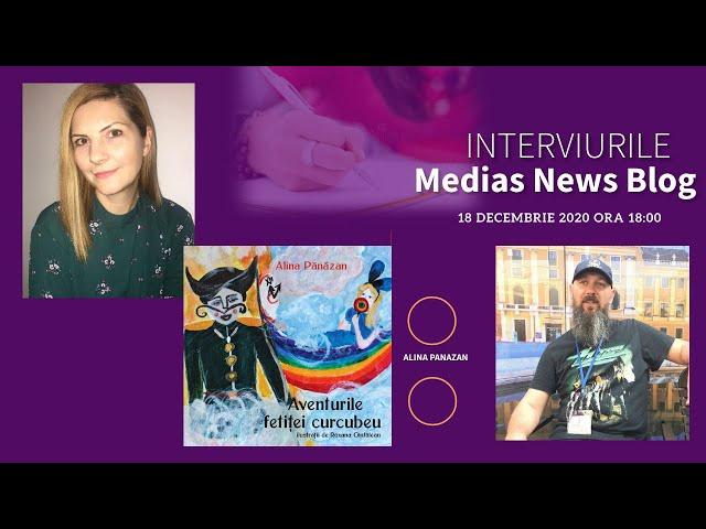 Alina Pănăzan la Interviurile Medias News Blog