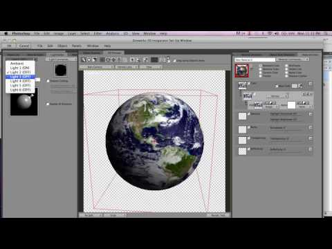 Creating 3D Planets in Photoshop