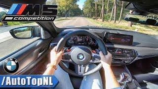2019 BMW M5 F90 COMPETITION 625HP POV Test Drive by AutoTopNL