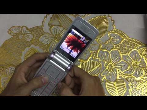 Điện thoại nắp gập Samsung S3600i màu hồng huyền thoại