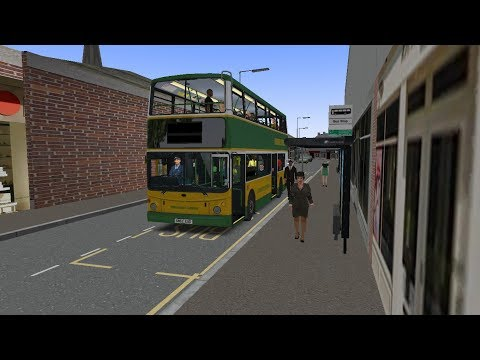 Omsi 2 Humber Buses V1.5 route 100 to South Bay Park & Ride with the Transbus ALX400