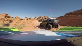 Sand Hollow West Rim Obstacles Wildcat XX