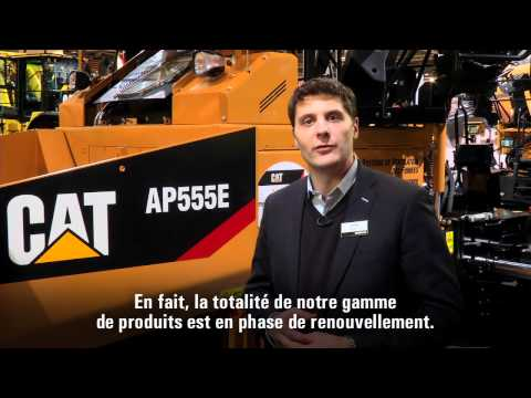 Cat® Paving Products At INTERMAT 2012 (French Subtitles)