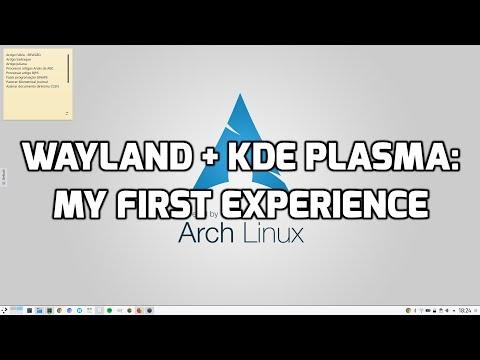 Wayland + KDE Plasma: My first experience