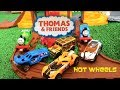 Thomas and Friends Tale of Brave Play set Roaring Dino Run Percy, Hot Wheels Cars