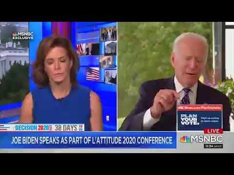 Questions About Biden's Health Are Raised After He Suffers Bizarre Brain Freeze Causing MSNBC Host T