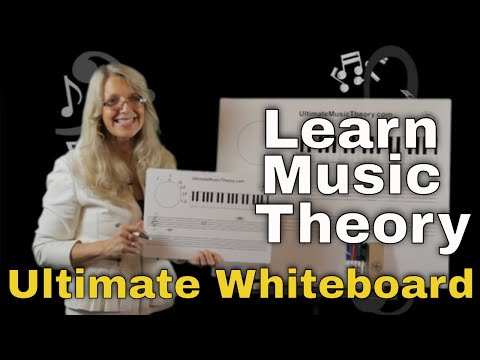 Learning Music Theory - Use the Ultimate Whiteboard to Learn Music Theory